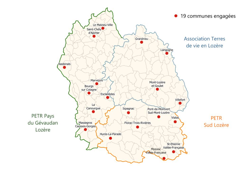Carte démarche CNV à l'échelle du Département